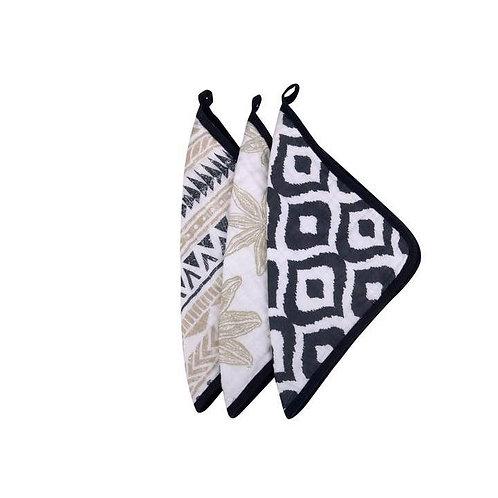 World Wanderer Washcloth - Set of 3