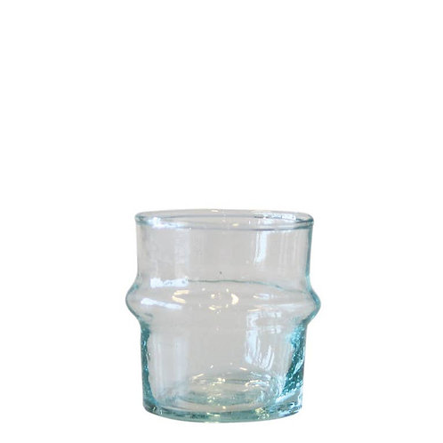 Transparant Recycled Glass Tealightholder