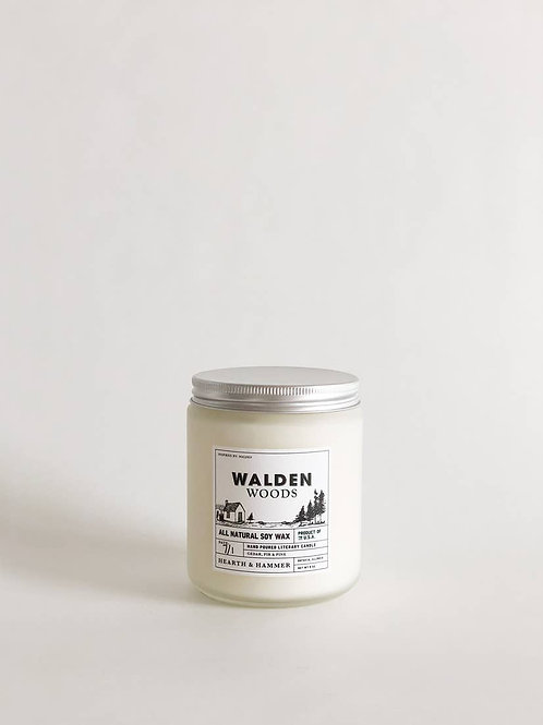 Walden Woods Literary Soy Candle 8oz