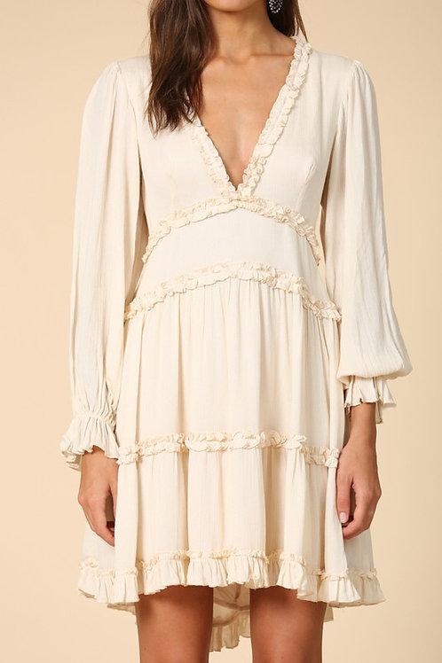 Saffron Ruffle Dress
