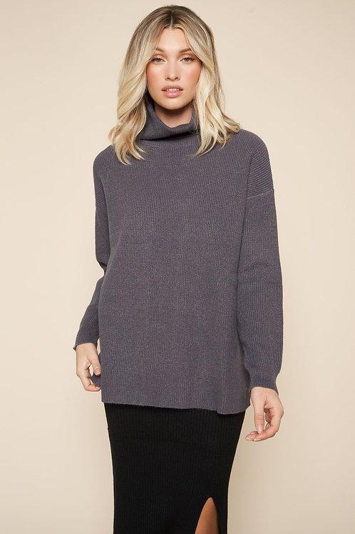 Sugarlips Turtleneck Oversized Sweater