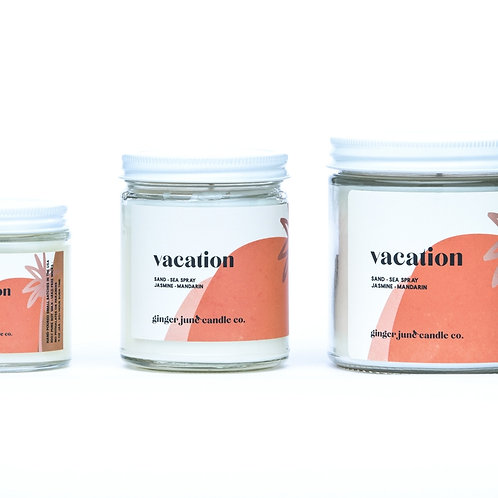 Vacation Non-toxic 4oz Soy Candle