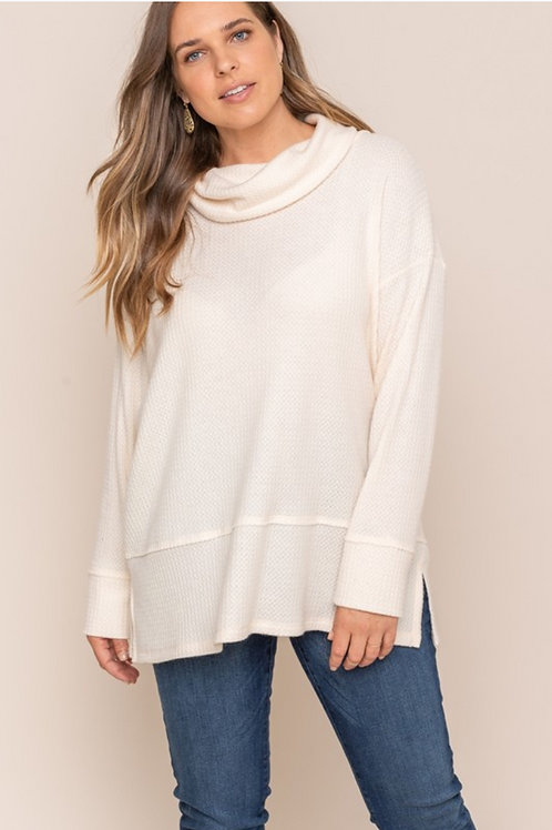 Circe Turtleneck Knit Sweater