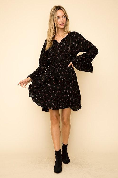 Taylor Floral Long Sleeved Dress