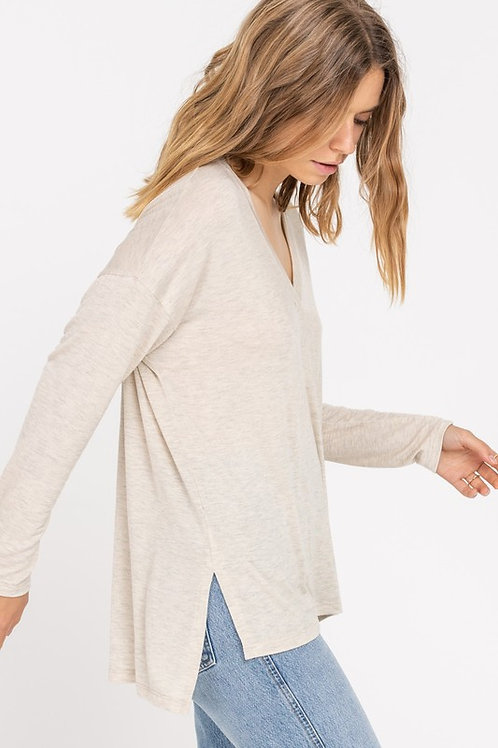 Calliope High/Low Sweater
