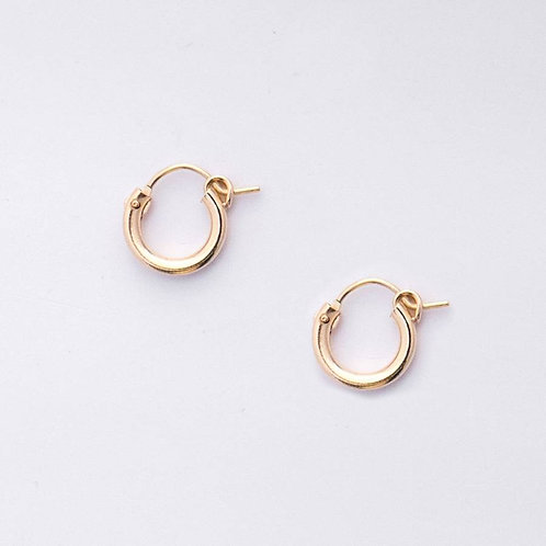 Gemma Tube Huggie Earrings