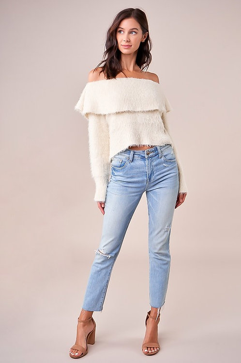Polar Off The Shoulder Sweater