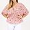 Thumbnail: Plus Size 3/4 Sleeve waffle knit blouse