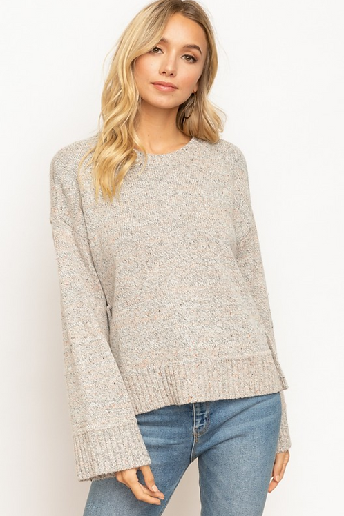 Harper Button Sweater