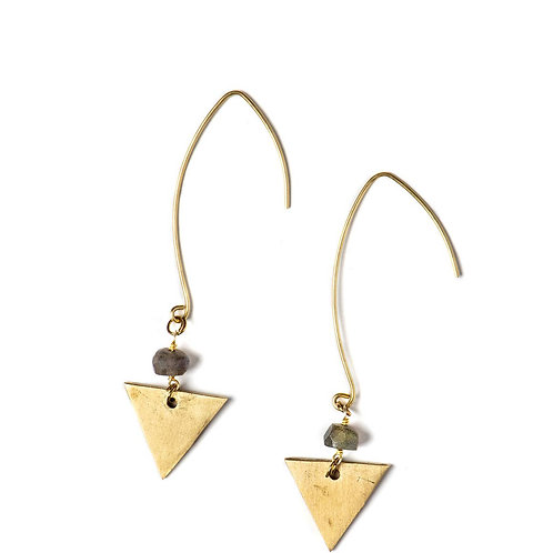 Joriann Triangle Earring