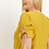 Thumbnail: Plus Size Mustard V-Neck Top