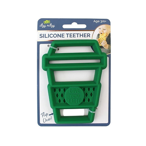 Latte Silicone Teether