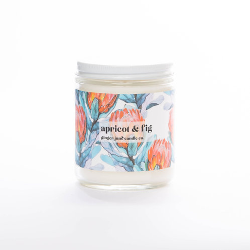 Apricot Fig Non-toxic Soy Candle