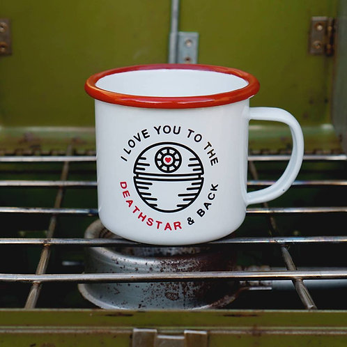 Love You to the Death Star and Back Mug