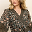 Thumbnail: Genevieve Geo Pattern & Floral Kimono Top