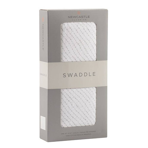 Spotted Wave Swaddle