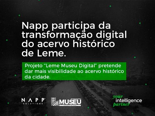 Napp participa da transformação digital do acervo histórico de Leme
