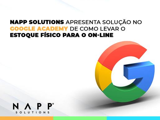 Napp palestra em evento do Google e mostra automatização de campanhas de produtos das lojas físicas