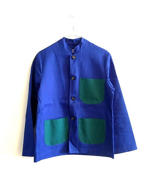 Jacket royal&green Mao collar