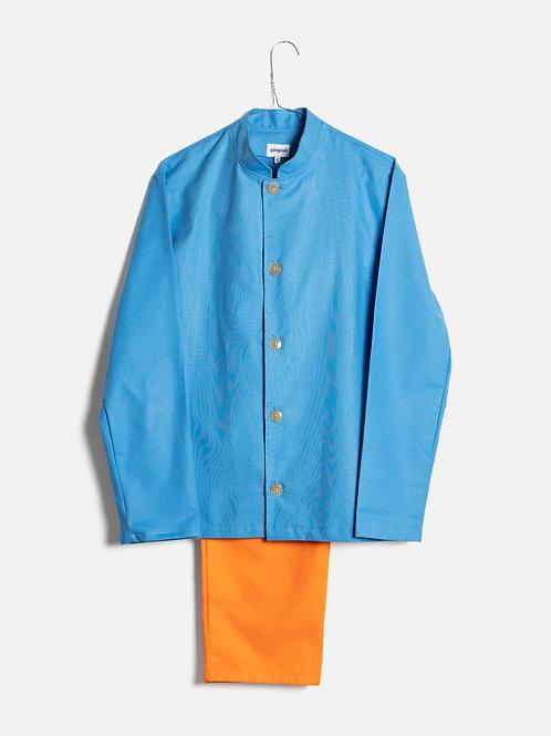 Spring clothes azure&orange