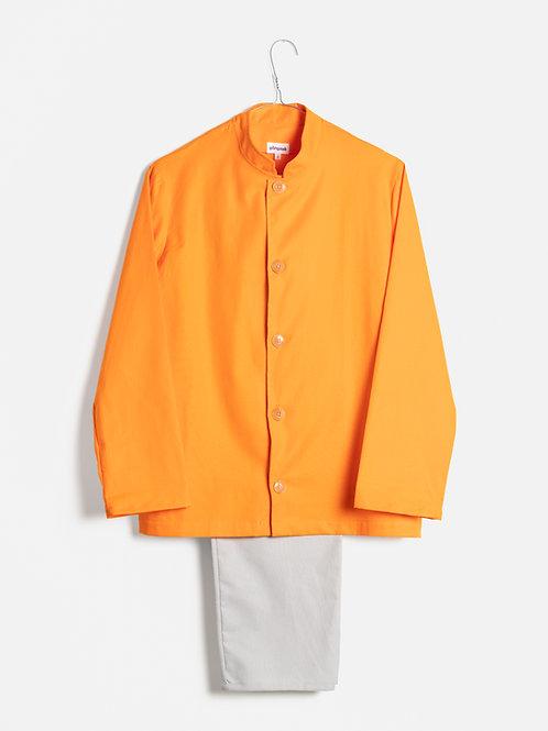 Spring clothes orange&grey