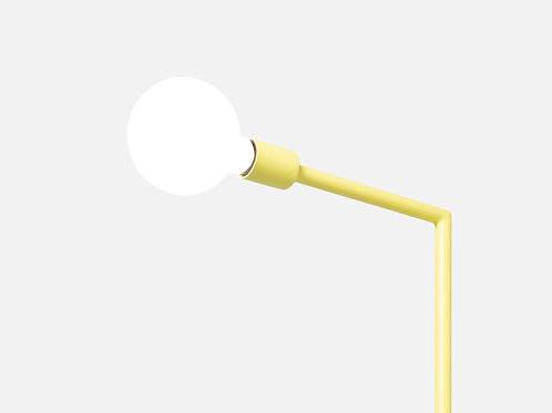 Hǎi floor lamp with regenerated plastic base