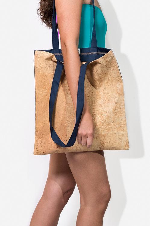 Shopper Blue&cork