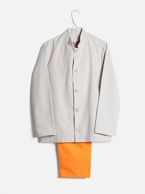 Spring clothes grey&orange