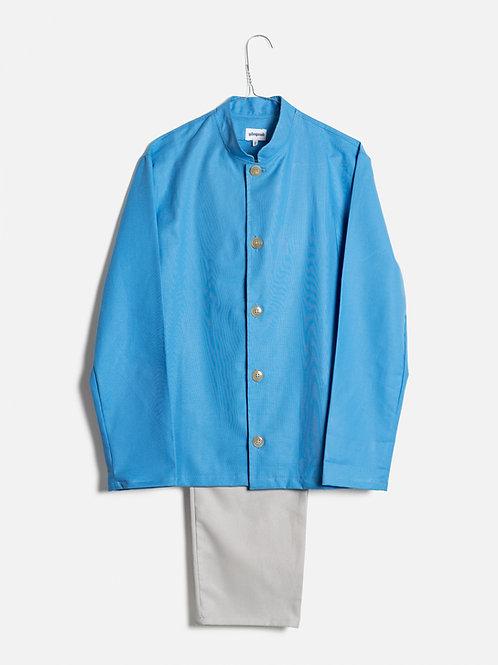 Spring clothes azure&grey