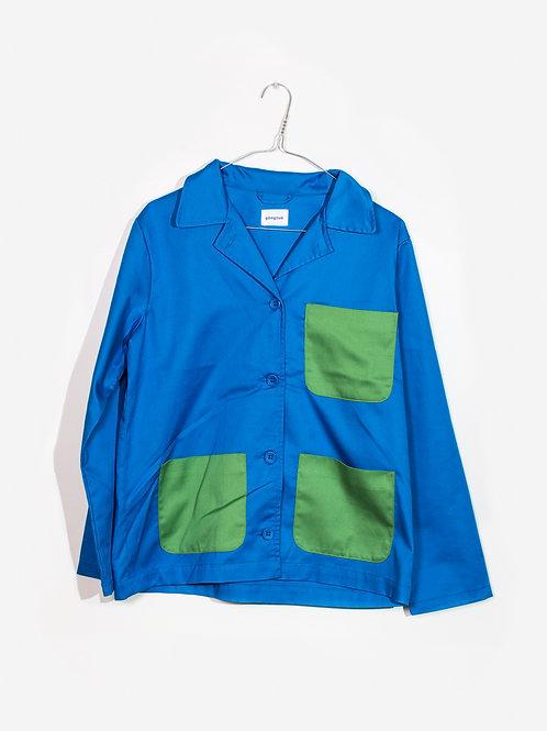 Jacket azure&green