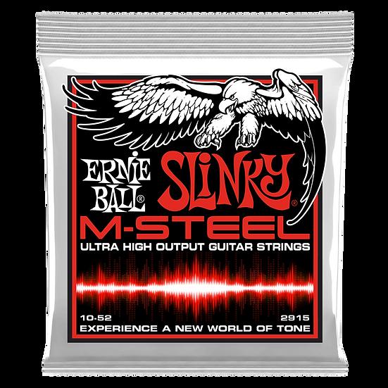 SKINNY TOP HEAVY BOTTOM SLINKY M-STEEL ELECTRIC GUITAR STRINGS - 10-52 GAUGE