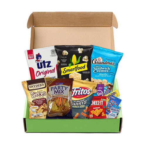 The Ultimate Snacker Box