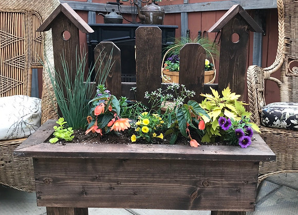 Birdhouse Planter PL0063