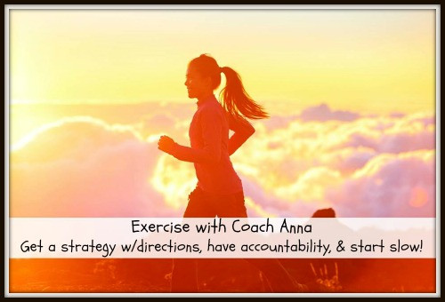 Exercise With Coach Anna | Living Your Best Healthy Life
