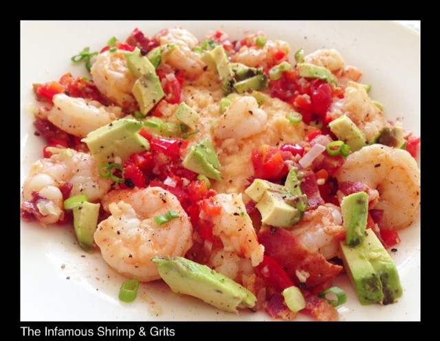 Shrimp & Grits | Living Your Best Healthy Life