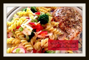 Gluten & Mayo Free Pasta Salad | Living Your Best Healthy Life