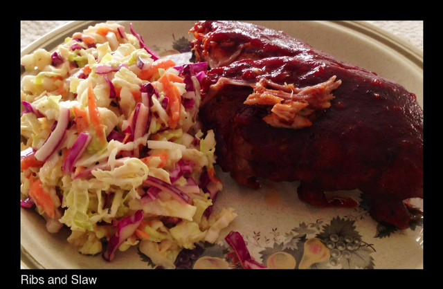 BBQ Ribs & Slaw   Living Your Best Healthy Life