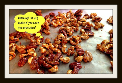 Candied Nut Mix | Living Your Best Healthy Life