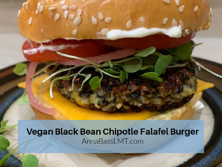 Review:  Food 52 Black Bean-Chipotle Falafel Burger from Joe Yonan