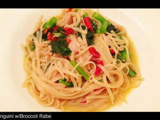 LINGUINI WITH BROCCOLI RABE