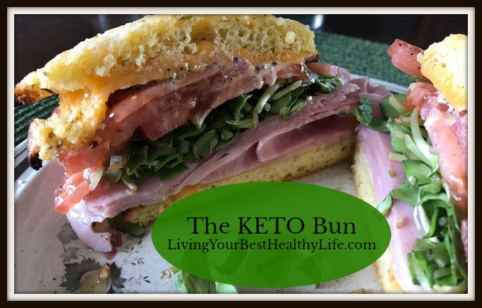 Keto Bun | Living Your Best Healthy Life