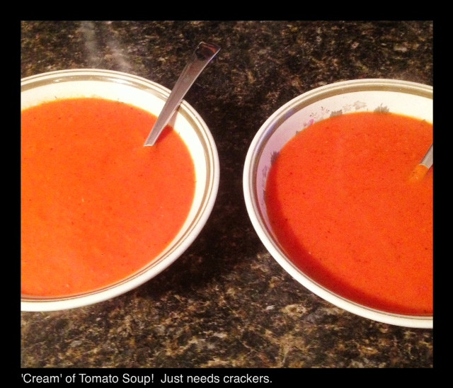 'Cream' of Tomato Soup | Living Your Best Healthy Life