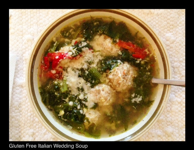 Gluten Free Italian Wedding Soup | Living Your Best Healthy Life