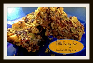 RAW Energy Bar | Living Your Best Healthy Life
