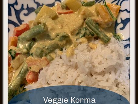 VEGAN Veggie Korma