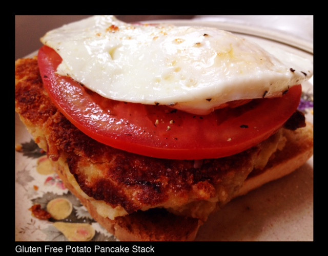 Gluten Free Potato Pancake Stack | Living Your Best Healthy Life