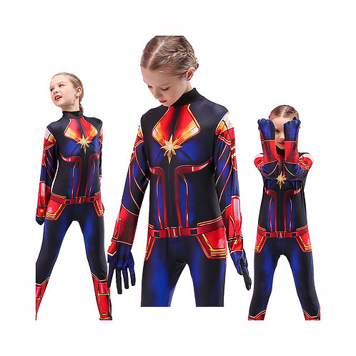 Disfraz Capitana Marvel Deluxe