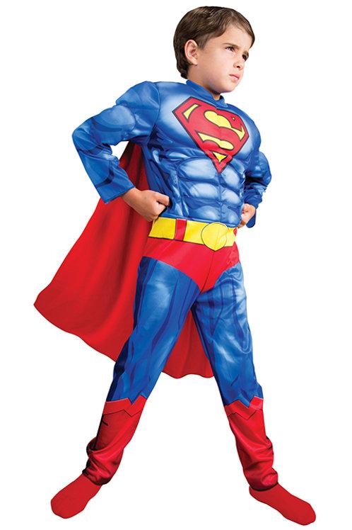 Disfraz Superman con Musculos Original DC
