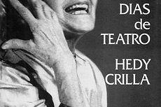 Días de teatro Hedy Crilla, libro de Cora Roca