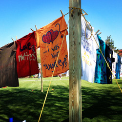 USM Clothesline Project 2014